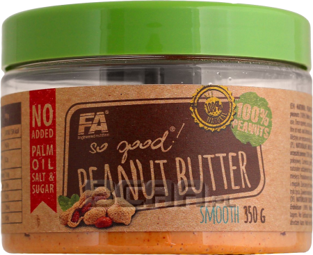 SO GOOD! PEANUT BUTTER CRUNCHY & SMOOTH 350 q