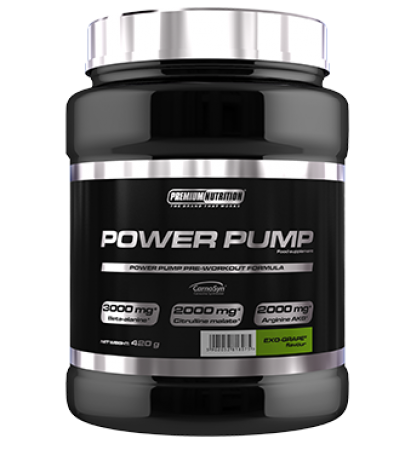 premium nutrition power pump